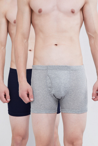 MAX Solid Cotton Trunks - Pack of 2 Pcs.